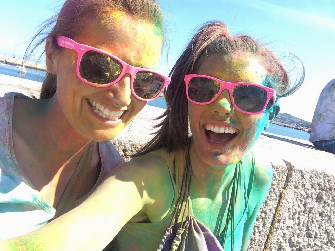 Colour Run Dun Laoghaire Pier